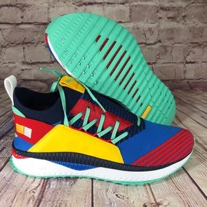"PUMA Tsugi Jun ""Primary Pigment"" Red/Blue/Yellow"